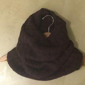 Accessories - Knit Neck warmer, Brown/Wine